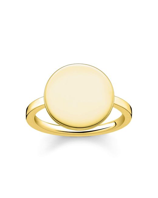 Thomas Sabo | Metallic Love Bridge Engravable Signet Ring | Lyst