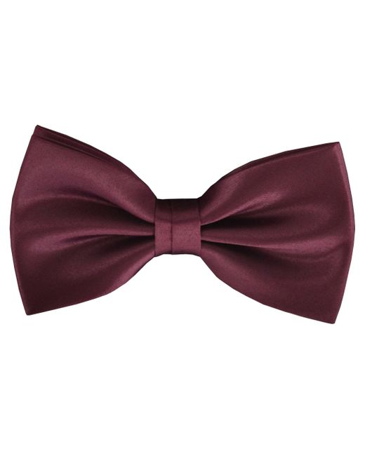 Double Two | Red Plain Bow Tie for Men | Lyst