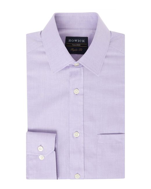 Howick - Purple Canyon Twill Shirt for Men - Lyst