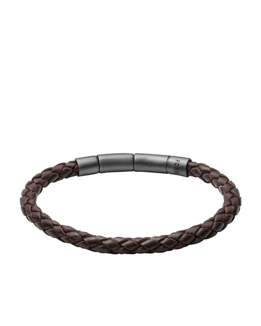 Fossil - Brown Jf02074001 Mens Bracelet for Men - Lyst