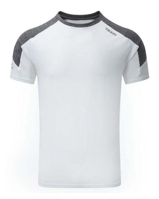 Tog 24 | White Plain Crew Neck Regular Fit T-shirt for Men | Lyst