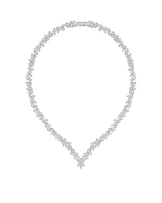 Swarovski | Metallic Diapason All-around Necklace | Lyst