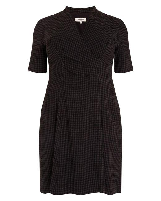 Studio 8 - Black Selina Check Dress - Lyst