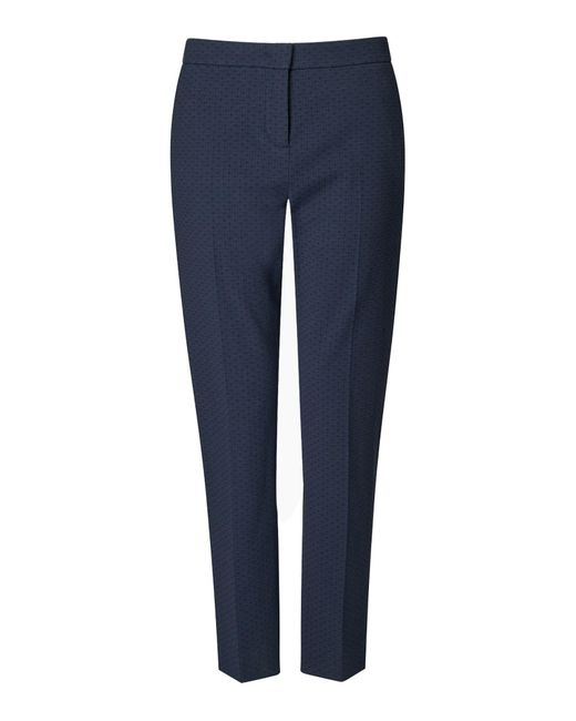 Oval Jacquard Trousers Jigsaw
