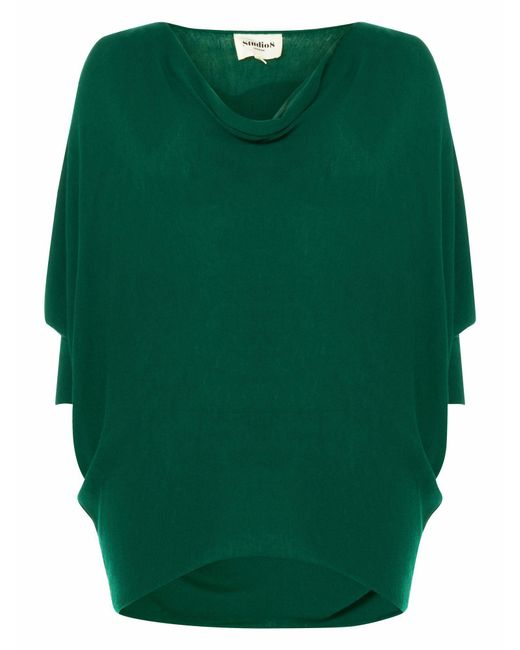 Studio 8 | Green Ramona Knitted Top | Lyst