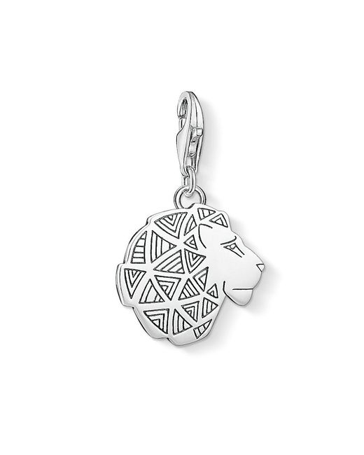 Thomas Sabo - Metallic Charm Club Lion`s Head Charm - Lyst