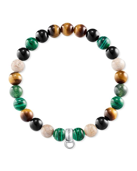 Thomas Sabo | Green Charm Club Multi-colour Charm Bracelet | Lyst