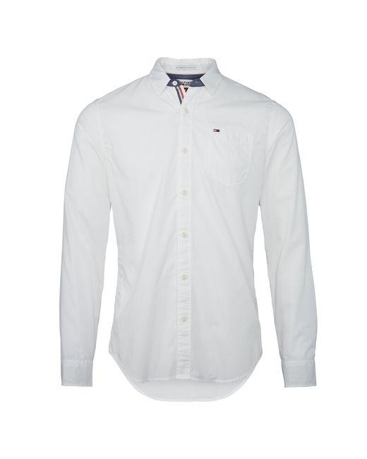 Tommy Hilfiger | White Original End On End Shirt for Men | Lyst
