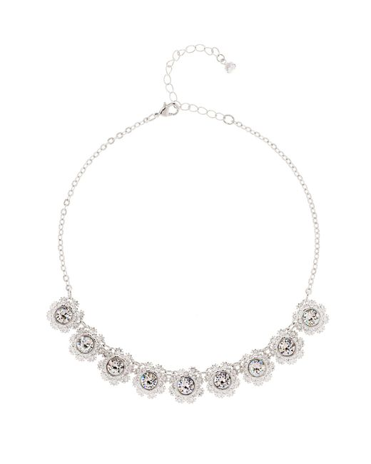 Ted Baker - Metallic T15790102 Crystal Daisy Lace Necklace - Lyst
