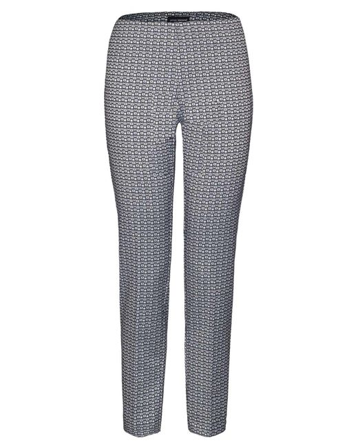 James Lakeland - Black Geometric Jacquard Trousers - Lyst