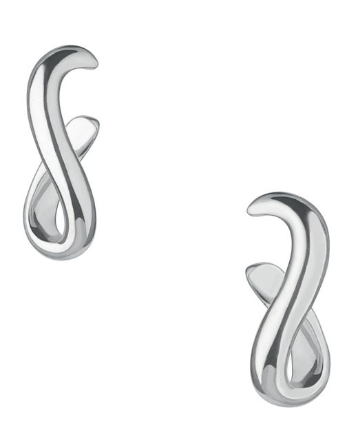 Links of London | Metallic Essentials Infinite Hoop Earrings | Lyst