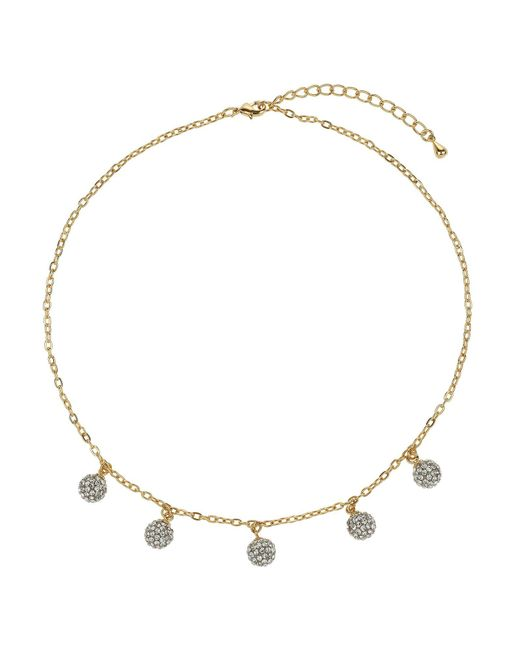 Mikey - Metallic Multi 9mm Ball Necklace - Lyst