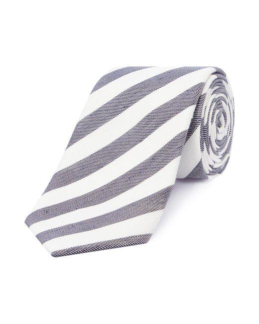 Chester Barrie - Blue Stripe Tie for Men - Lyst