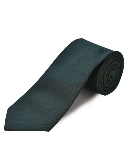 Double Two - Green Clip On Polyester Tie for Men - Lyst