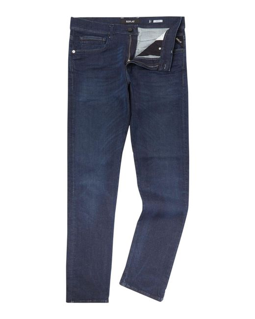 Replay - Blue Grover for Men - Lyst