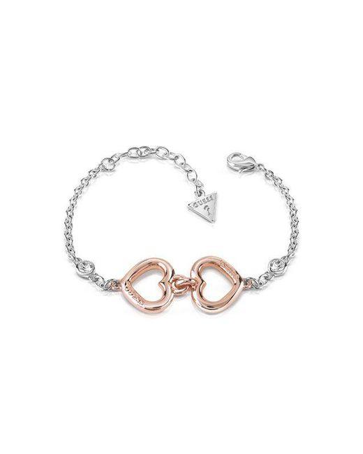 Guess | Metallic Grace Logo Bracelet | Lyst