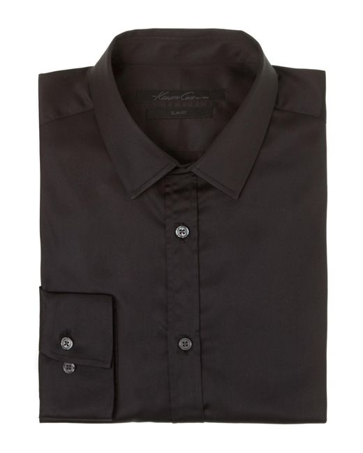 Kenneth Cole   Black Flight Travel Shirt for Men   Lyst