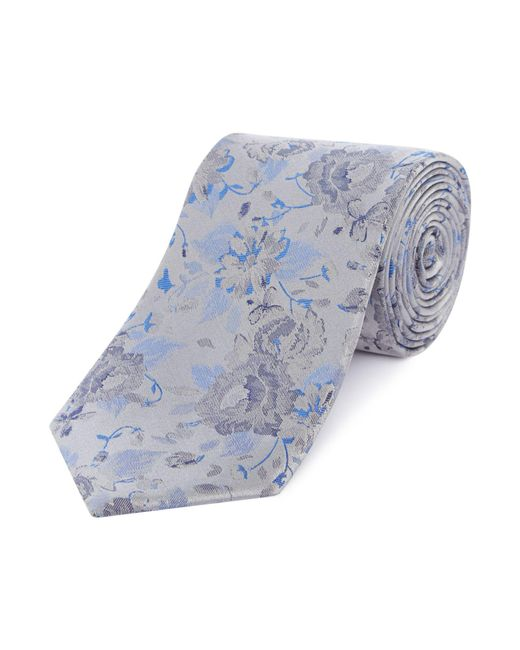Simon Carter - Gray Vintage Floral Tie for Men - Lyst