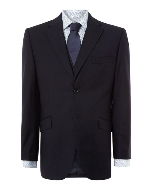 Howick | Blue Howard Fine Herringbone Suit Jacket for Men | Lyst