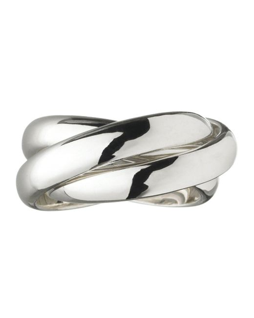 Links of London   Metallic Triple Ring   Lyst