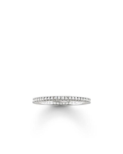 Thomas Sabo | Metallic My Rings Small Pave Set Ring | Lyst
