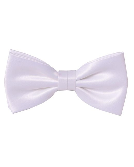 Double Two | White Plain Bow Tie for Men | Lyst