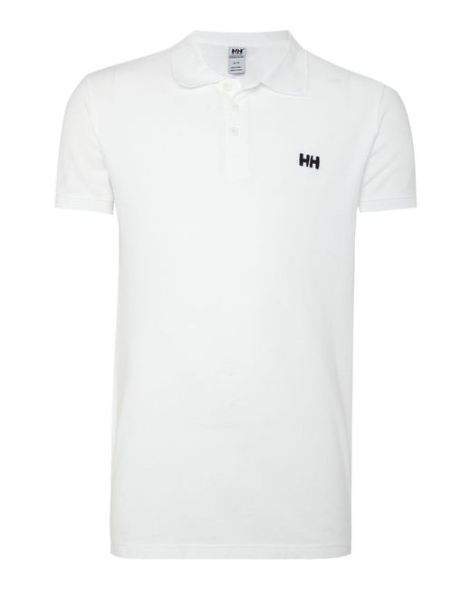 Helly Hansen | White Transat Polo for Men | Lyst