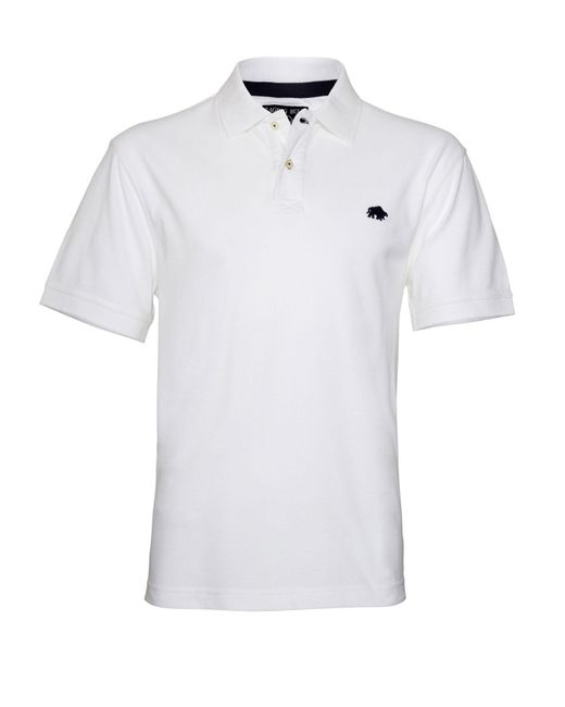 Raging Bull | White Big & Tall New Signature Polo Shirt for Men | Lyst