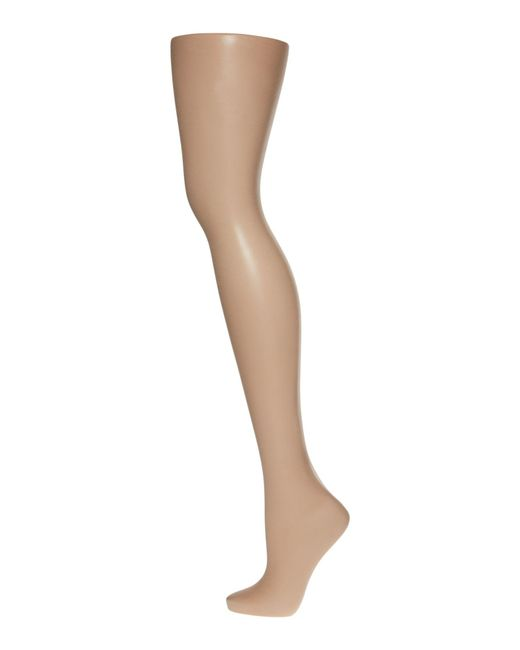 Pretty Polly | Natural 8 Denier Sandal Toe Tights | Lyst