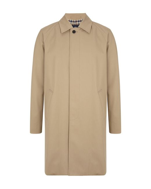 Aquascutum | Natural Sheerwater Raincoat for Men | Lyst