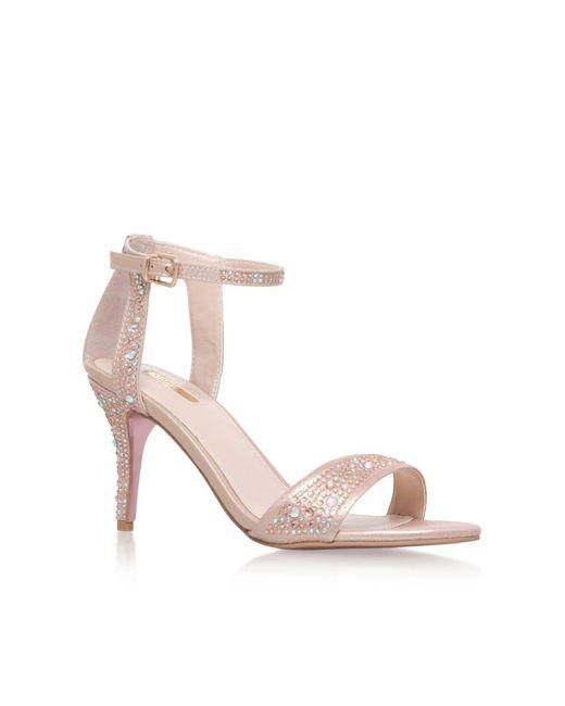 Carvela Kurt Geiger | Pink Kollude High Heel Sandals | Lyst