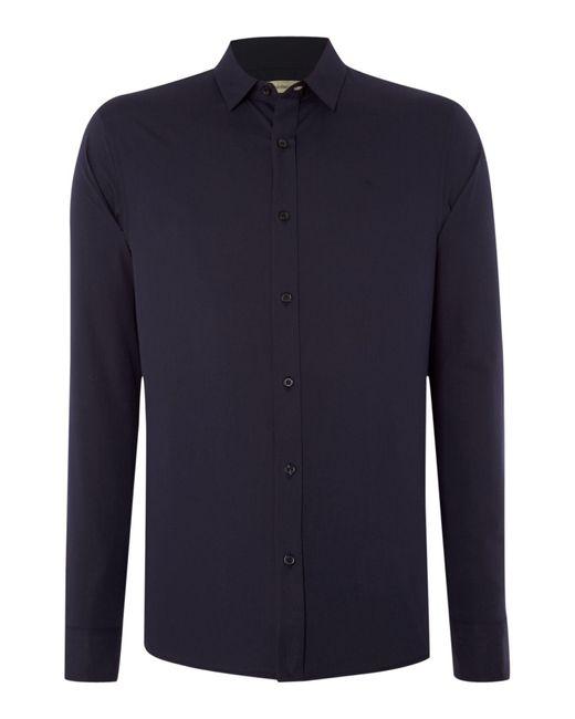 Calvin Klein | Blue Wilbert Slim Fitting Shirt for Men | Lyst