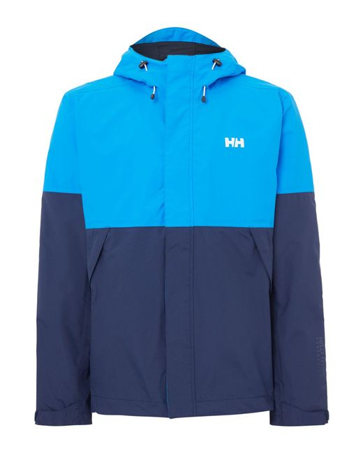 Helly Hansen | Blue Fremont Waterproof Mac for Men | Lyst