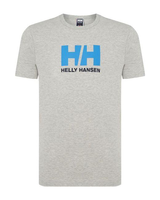 Helly Hansen | Gray Hh Logo T-shirt for Men | Lyst