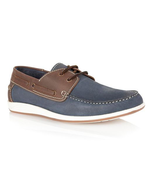 Lotus | Blue Exmouth Lace Up Casual Boat Shoes for Men | Lyst