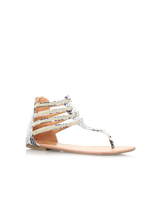 Miss Kg | Natural Dixie Multi-strap Sandals | Lyst