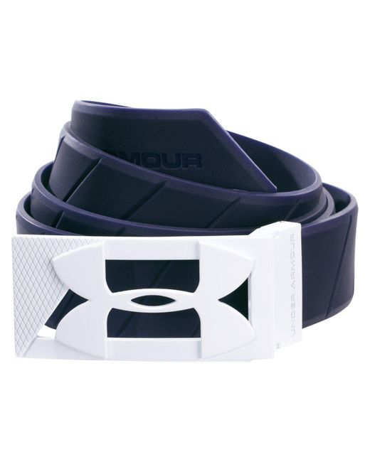 Under Armour | Blue Silicone Belt for Men | Lyst