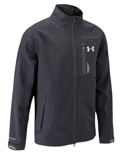 Under Armour | Black Tips Gore Tex Jacket for Men | Lyst