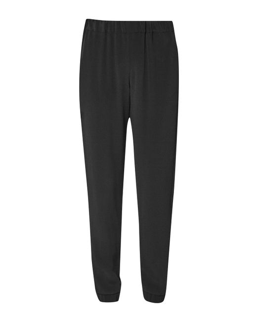 French Connection | Black Ft Darcy Drape Trouser | Lyst