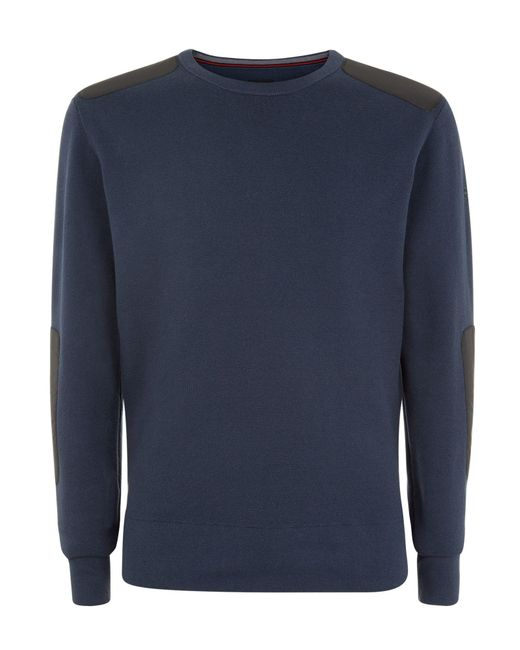 Victorinox | Blue Constable Crew Neck Jumper for Men | Lyst