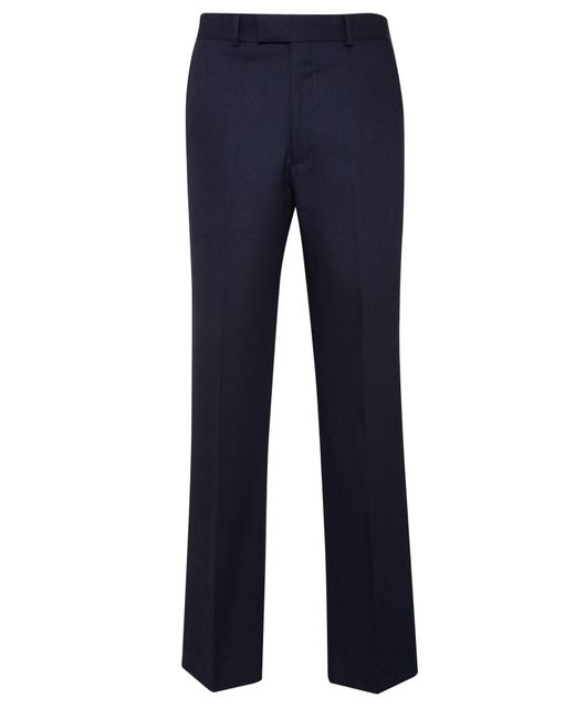 Chester Barrie | Blue Birdseye Tailored Fit Suit Trousers for Men | Lyst