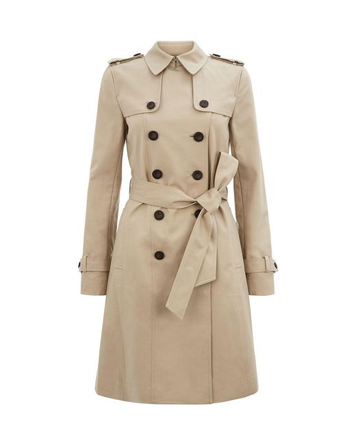 Hobbs | Brown Saskia Trench | Lyst