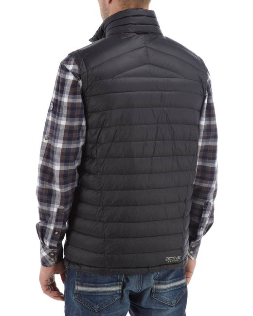 Tog 24 Zenith Mens Down Gilet In Black For Men Save 2