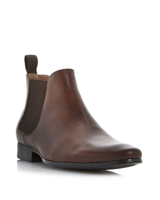 Dune | Brown Mister Smart Leather Chelsea Boot for Men | Lyst