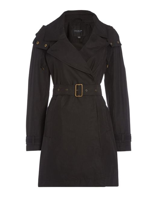 black trench coat with hood - photo #25