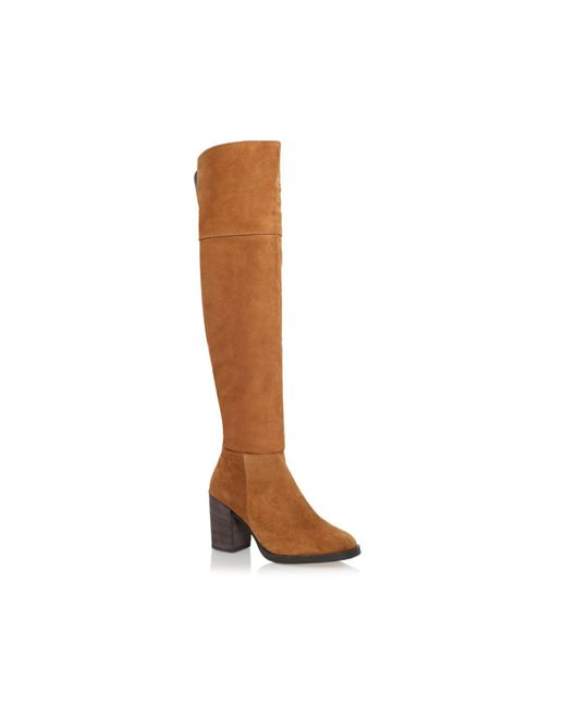 Carvela Kurt Geiger | Brown Wish High Heel Knee Boots | Lyst