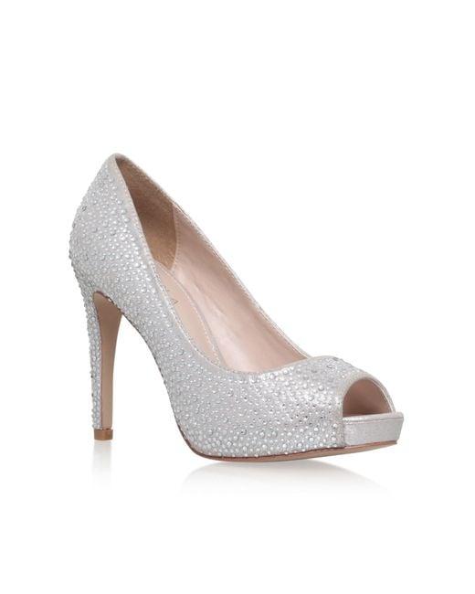 Carvela Lara Jewel High Heel Court Shoes