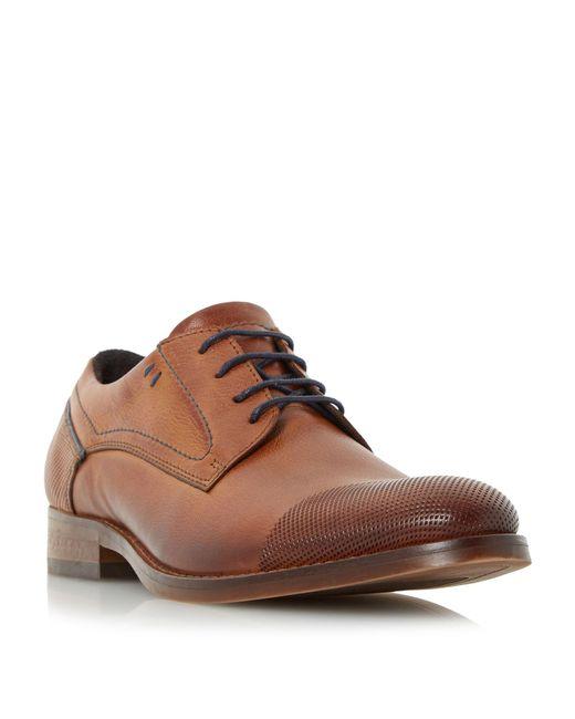 Bertie | Brown Bassline Toecap Gibson Shoes for Men | Lyst