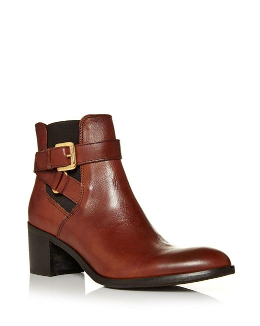 Moda In Pelle | Brown Aronas Medium Smart Short Boots | Lyst