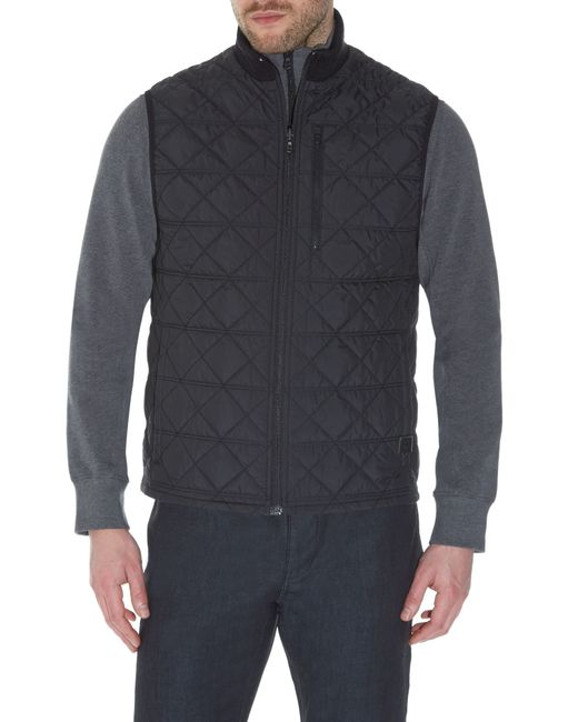 Victorinox | Black Matterhorn Quilted Gilet for Men | Lyst